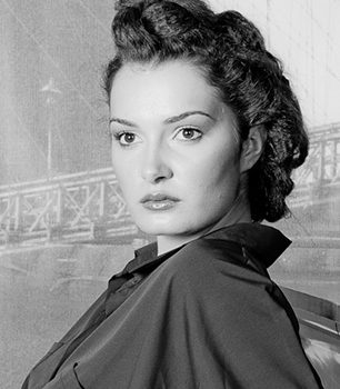fotografie creativa de portret retro anii 30