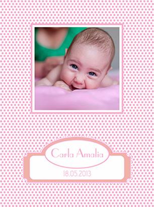 Album botez Carla Amalia